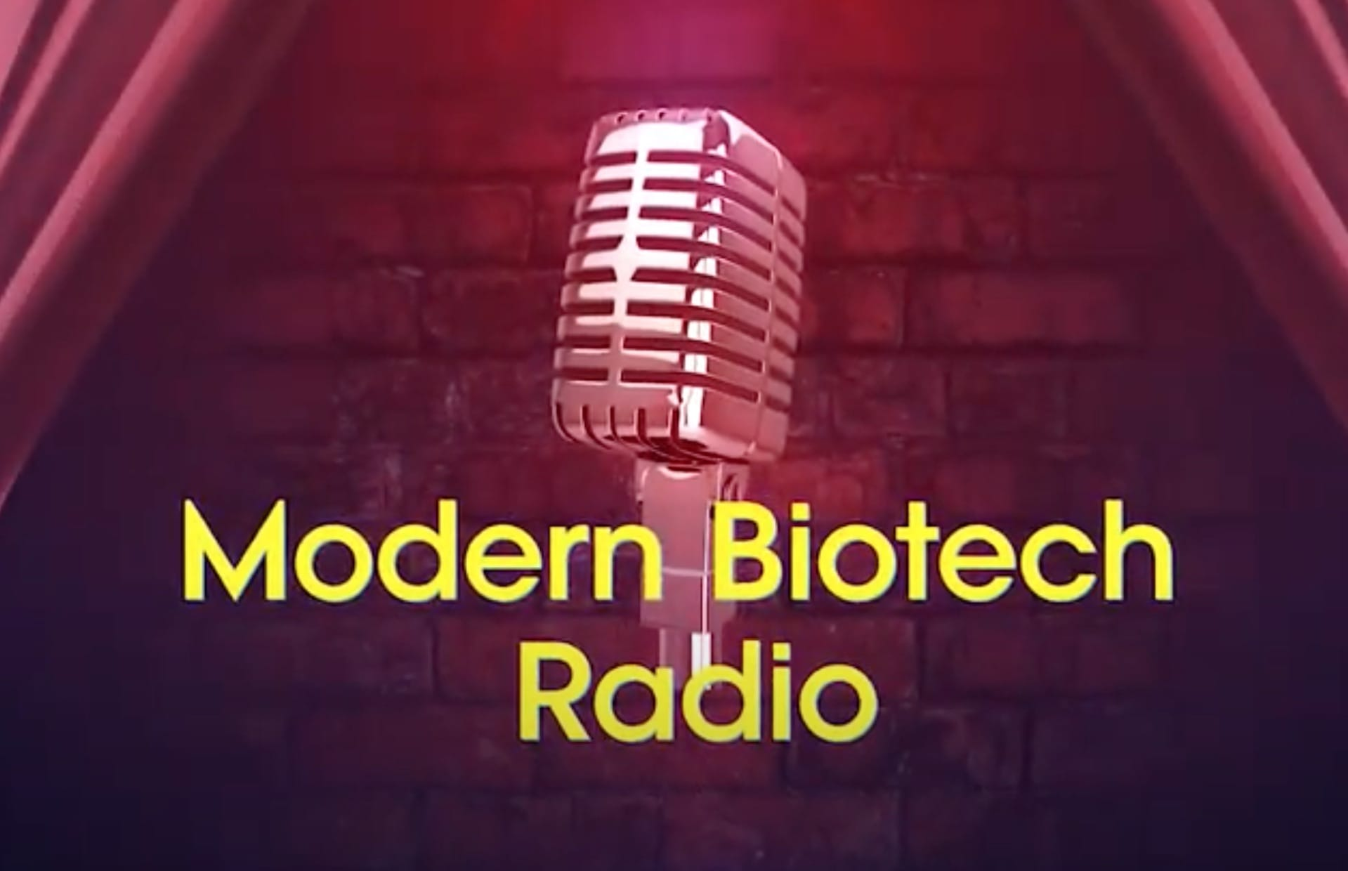 Modern Biotech Radio Podcast ~ Sex Therapy
